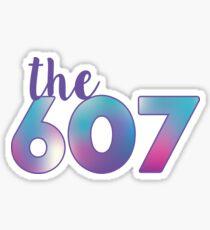 The 607 Area Code Sticker