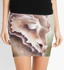 Sleeping Dragon - Peace and Tranquility Mini Skirt