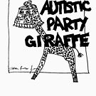 Autistic Party Giraffe by sparrowrose