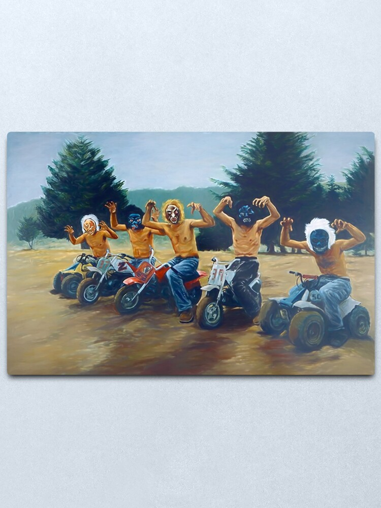 """Alternate view of Painting from """"The Royal Tenenbaums""""  Metal Print"""
