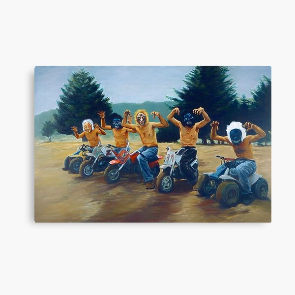 """Painting from """"The Royal Tenenbaums""""  Canvas Print"""