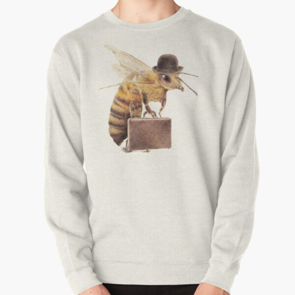 Worker Bee Pullover Sweatshirt