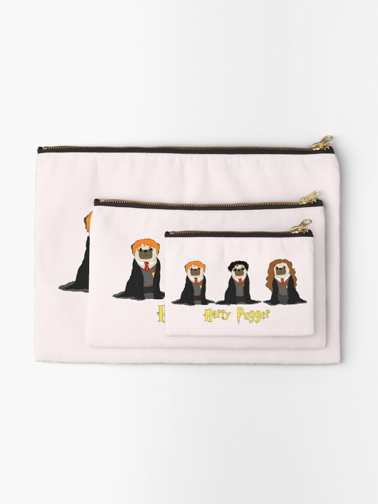 Alternate view of Harry Pugger Zipper Pouch