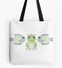 Fish Frog Fish Tote Bag