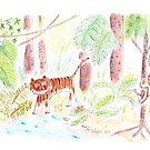 Jungle friends : tiger and monkey by Marie Charrois