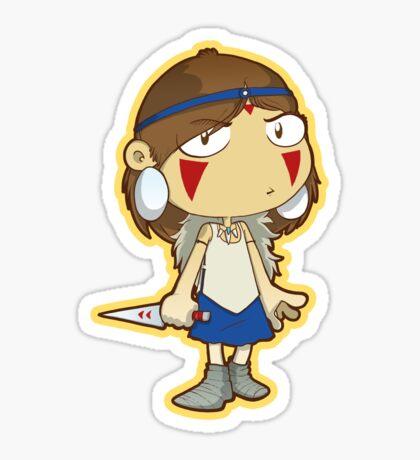 Princess Mononoke Sticker