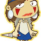 Princess Mononoke blood smear by Smars