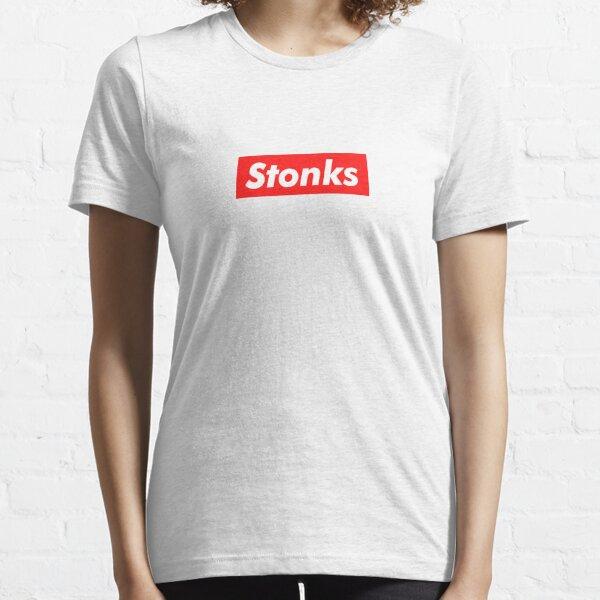 Stocks de Stonks Meme T-shirt essentiel