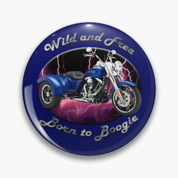 Harley Davidson Freewheeler Wild And Free Pin