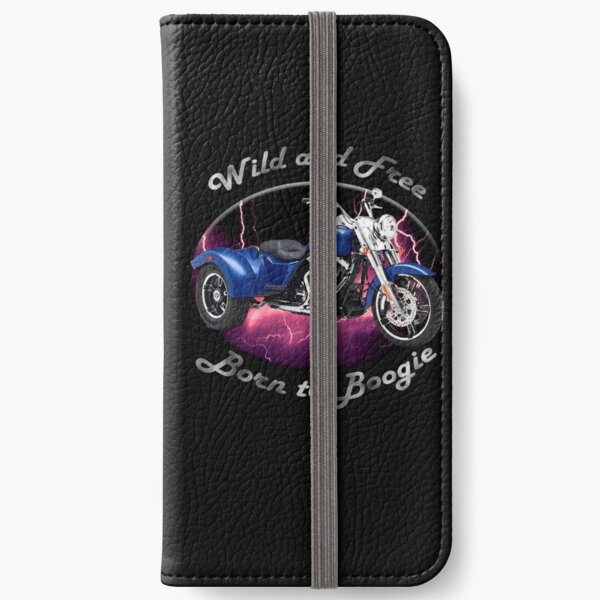 Harley Davidson Freewheeler Wild And Free iPhone Wallet