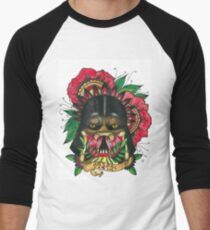 Darth Vader/Predator Men's Baseball ¾ T-Shirt