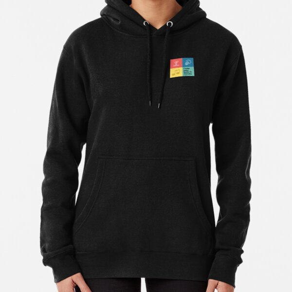 I Hate Your Taste in Movies - small logo Pullover Hoodie