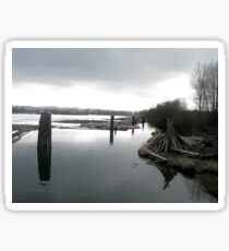 Fraser River, Port Coquitlam Sticker