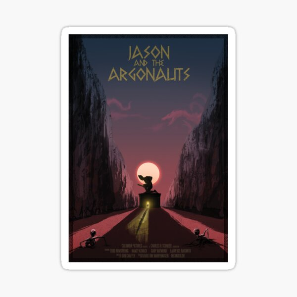 Jason and the Argonauts Sticker