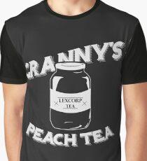 Granny's Peach Tea White Graphic T-Shirt