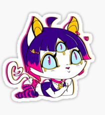 Cutie Bastet - Eye appurrreciate you  Sticker