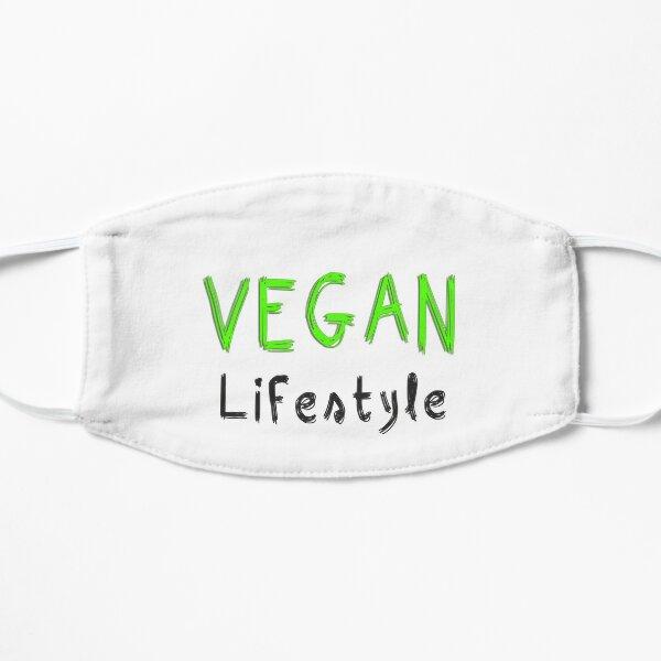 Veganer Lebensstil Flache Maske