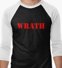 WRATH Men's Baseball ¾ T-Shirt