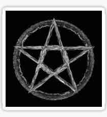 Ghostly Pentagram Sticker
