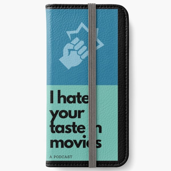 I Hate Your Taste in Movies logo (large) iPhone Wallet