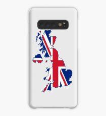 Flag Map of the United Kingdom  Case/Skin for Samsung Galaxy