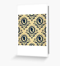 Brienne of Tarth Pattern Greeting Card
