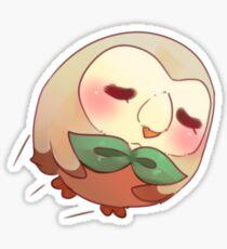 Bird Canon Ball Sticker
