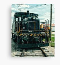 Vintage 8537 Army Train Canvas Print