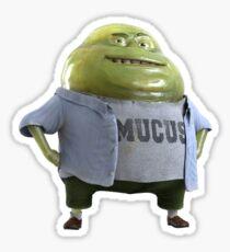 Mr.Mucus Sticker