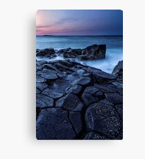 Ending Blocks Canvas Print