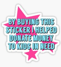 Donate Sticker