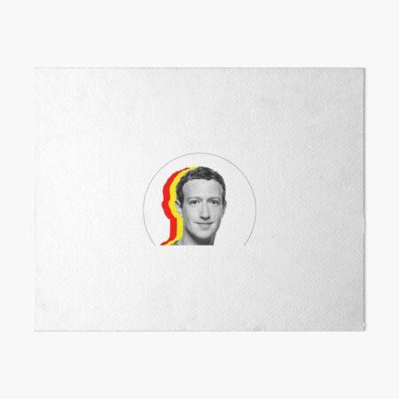 facebook  Art Board Print