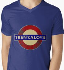 TRENZALORE TUBE STATION Men's V-Neck T-Shirt