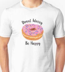 Donut Worry Slim Fit T-Shirt