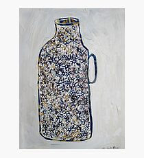 A Bottle Full of Flowers Photographic Print