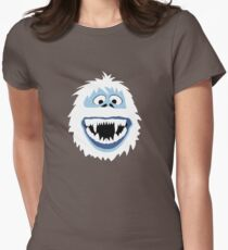 Bumble Face Womens Fitted T-Shirt