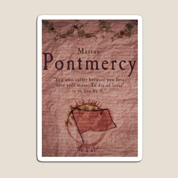 Marius Pontmercy Magnet