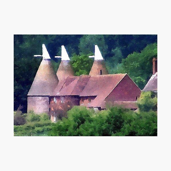 Oast Houses Photographic Print