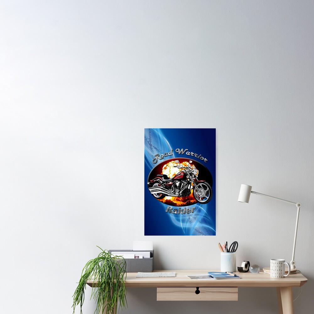 Yamaha Raider Road Warrior Poster