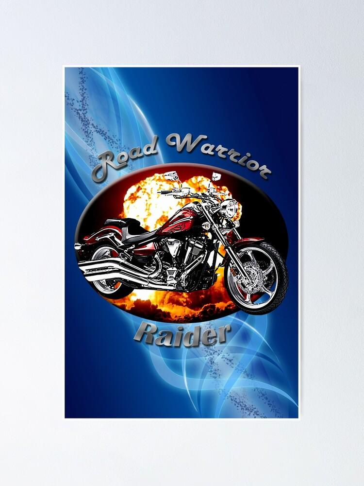 Alternate view of Yamaha Raider Road Warrior Poster