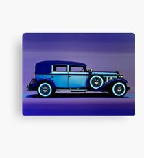 Cadillac V16 Painting Canvas Print