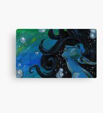 Bubbly Flow Canvas Print