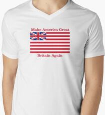 Make America Great Britain Again  Men's V-Neck T-Shirt
