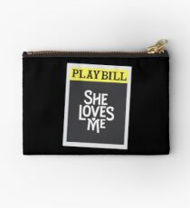 She Loves Me - Revival Playbill Studio Pouch