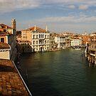 Venetian View of the Grand Canal by Georgia Mizuleva