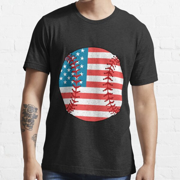 Vintage Baseball Flag Essential T-Shirt