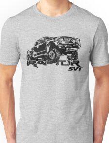 Raptor Jump Distressed Unisex T-Shirt