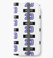 Nathan Scott Jersey Number iPhone Wallet/Case/Skin