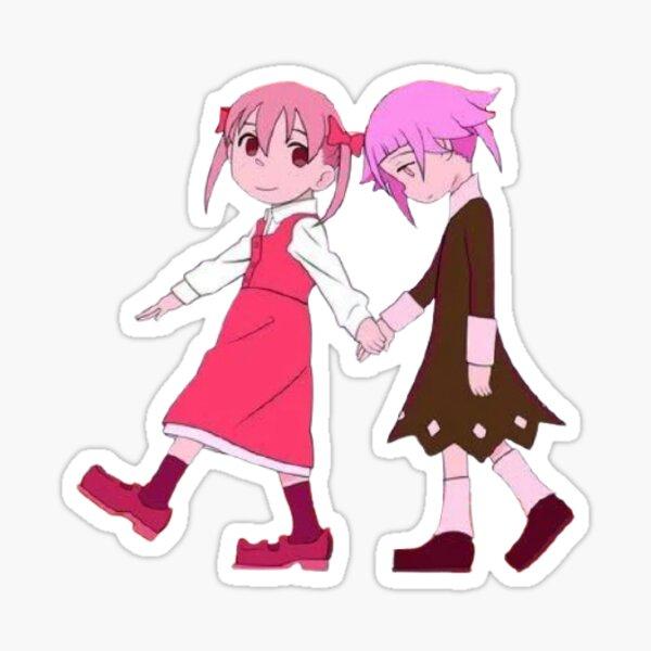 Little Crona And Maka Sticker