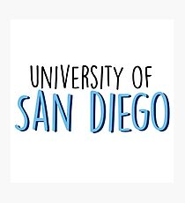 University of San Diego Photographic Print